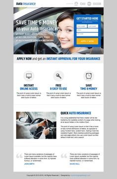 Save Money on Responsive Landing Page Design for Car Insurance . Save Money on Responsive Landing Page . Supplemental Health Insurance, Health Insurance Cost, Insurance Quotes, Car Insurance, Landing Page Design, Medical Care, Going To Work, Personal Finance, Saving Money