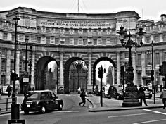 London, England - Admiralty Arch