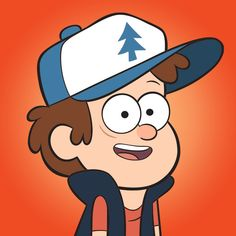 Dipper é um garoto muito curioso que quer desvendar os segredos de Gravity Falls.