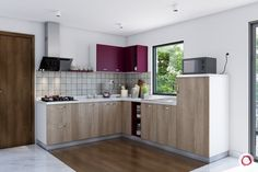 Add some excitement to your dull kitchens by introducing dual-toned kitchen cabinets. Here are kitchen design images to inspire you. One Wall Kitchen, Two Tone Kitchen Cabinets, Urban Kitchen, Kitchen Cabinet Design, Kitchen Layout, Layout Design, Kitchen And Kitchenette, Ikea, Kitchen Modular