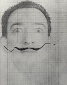 How's Business? Salvador Dalí by Philippe Halsman, 1954
