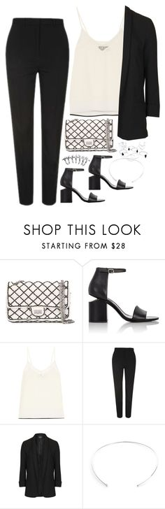 """Workwear"" by samikayy76 ❤ liked on Polyvore featuring Chanel, Alexander Wang, By Malene Birger and Topshop"