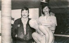 Exposición del escultor Miguel Ángel Brenes en Fonda Mi viejo Barva- Heredia 1984