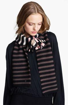 Sonia Rykiel 'Pompom' Wool Knit Scarf | Nordstrom