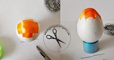 Jak wykonać ozdobne jajka ? Jak wykonać karczochy ? Jajka ze wstążki Eggs, Scrappy Quilts, Egg