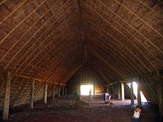 House of prayers For the Guarani people in Mato Grosso do Sul, Brazil.
