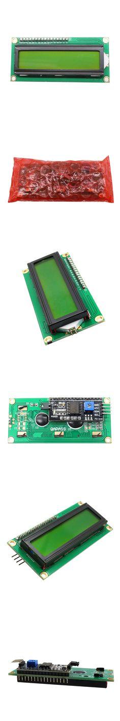 IIC/I2C 1602 LCD Display Module Green Screen for Arduino