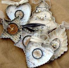 Becky Shander - collage, jewelry, fiber art