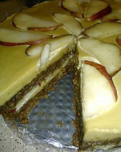 Dulce Pear Torte Pear, Cheesecake, Desserts, Food, Tailgate Desserts, Meal, Cheese Cakes, Dessert, Eten