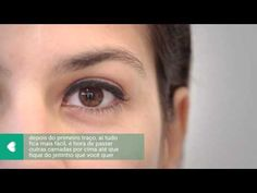 tem jeito fácil de passar delineador?: tutorial bem simples de como passar delineador nos olhos.  #delineador #liquido