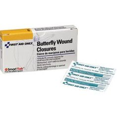 Buttefly bandages; $1.50 for box of 10  Item#: A151F