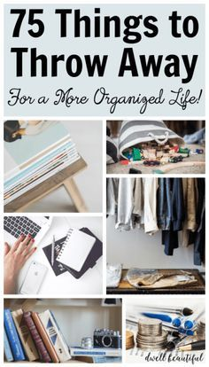 Organizing Hacks, Clutter Organization, Home Organization Hacks, Organizing Your Home, Organising, Kitchen Organization, Decluttering Ideas, Project Life Organization, Small Bedroom Organization