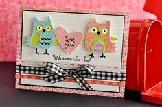 """""""Love you"""" card made with the #Cricut!"""