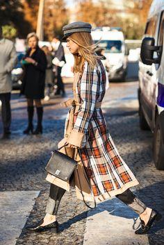 Paris Fashion Week: SS18 Streetstyle by Anna Yakovleva