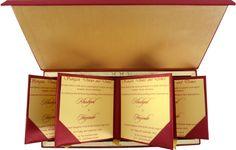 Buy Luxury Wedding Cards - LWC-103 Online   Madhurash Cards