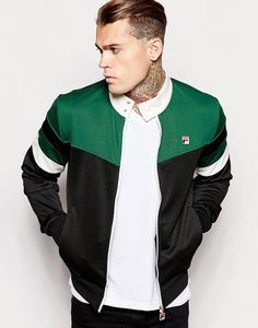Shop Fila Vintage Retro Track Jacket at ASOS.