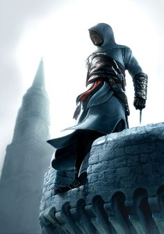Assassin's Creed Art & Pictures  Altair on Watch Tower
