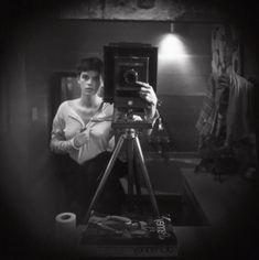 Sally Mann Self-Portrait 1973.