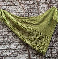 Greengage Shawl pattern by Erika Flory