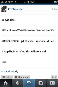 Hahaha!!! This is crazy!!! I CANT STOP LAUGHING!!! #StopTheDramaAndBlameTheWanted