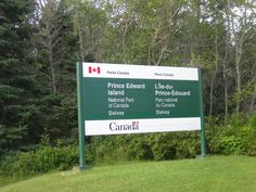Parc National, National Parks, Parcs Canada, Prince Edward Island, Road Trip, Explore, Signs, Road Trips, Novelty Signs