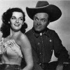 Jane Russell and Bob Hope