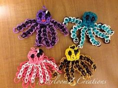 Rainbow Loom Octopus