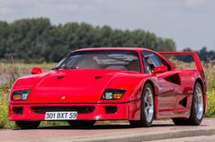 Nigel Mansell's Ferrari F40 ~ $870K at recent auction
