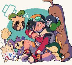 Pokemon Stories, Pokemon Game Characters, Pokemon Games, Pokemon Rpg, Gold Pokemon, Pokemon Fan Art, Cute Pokemon, Pokemon Stuff, Pokemon Adventures Manga