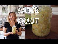 Alman Turşusu SAUERKRAUT nasıl yapılır? Fermente Lahana Turşusu - Canandan Tarifler - YouTube
