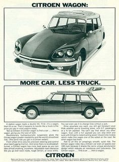 1969 Citroen Station Wagon This is the car i went to school in for nine years! A great ride! Citroen Ds, Psa Peugeot Citroen, Old Advertisements, Car Advertising, Electric Sports Car, Automobile, Dodge, Car Posters, Station Wagon