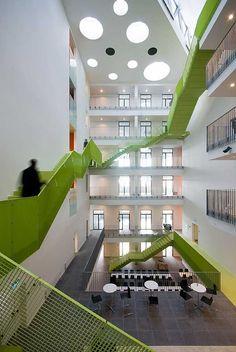 Vitus Bering Innovation Park C.F. Møller. Photo: Julian Weyer
