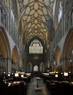 wells cathedral, the choir Cathedral Architecture, Gothic Architecture, Church Of England, Cathedral Church, Choir, Barcelona Cathedral, Opera House, Catholic, Around The Worlds