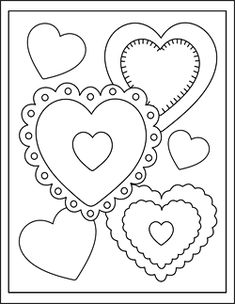 165 Best Valentine S Day Color By Number And Unnumbered Coloring