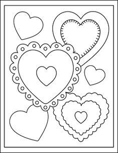 Free printable Valentine cards for kids