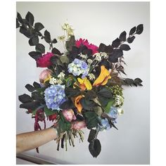 Pick & Mix- Love when clients choose interesting blooms