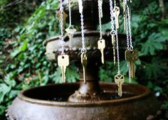 Mr. Kate | DIY key windchime
