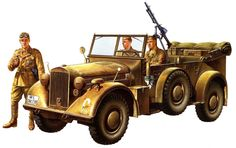 Kfz. 15 Horch 901 Type 40 (Staff Car) in North Africa