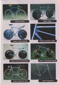 '94 Cinelli Catalog, Cinelli Laser page... by pipco82, via Flickr
