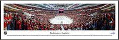 Washington Capitals Framed Panoramic Poster Print - Verizon Center - Playoffs 2013