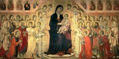 Duccio's Maesta. 1308