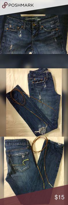 American Eagle Skinny Jeans American Eagle Skinny Jeans Size 2 👖30 length American Eagle Outfitters Jeans Skinny