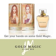 #AD The first ever gorge smelling fragrance from Little Mix is out NOW! #GoldMagic