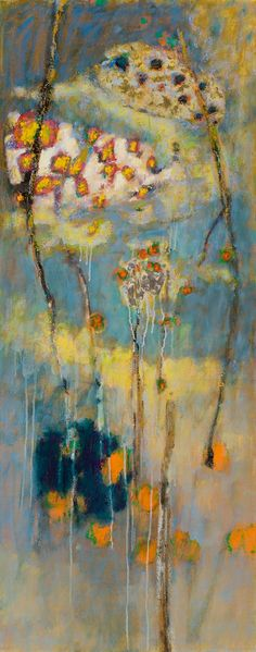 Unspoken | oil on canvas | 48 x 20"