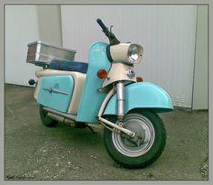 Der TROLL1, ein populärer DDR-Roller der VEB | Fotos Google+ Ralf Kaufmann Motor Scooters, Vespa Scooters, Motor Car, Beast From The East, Car Wheels, Car Humor, Old Cars, Motorbikes, Motorcycle