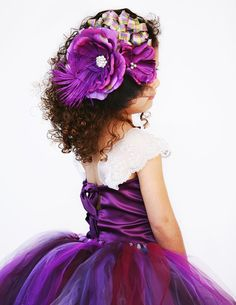 8d149f0022fdf Items similar to Purple Plum Fascinator Hat--Headband--Flower  Girl--Portraits--Pageant---Available in Many Colors------Perfect for  WEDDINGS and Portraits on ...