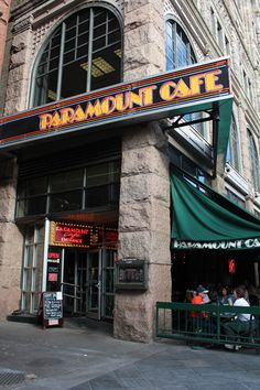 Good food and great beer at the Paramount Cafe in Denver's 16th Street Mall.