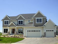LDK Home Exterior featuring James Hardie siding and Marvin windows.
