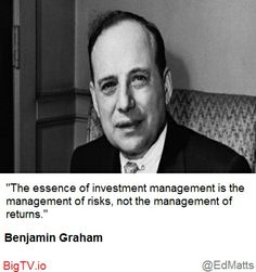 Manage Risk before Returns