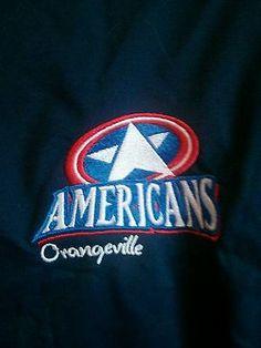 Rare Player worn Orangeville Americans GMJrA L GMHL jacket